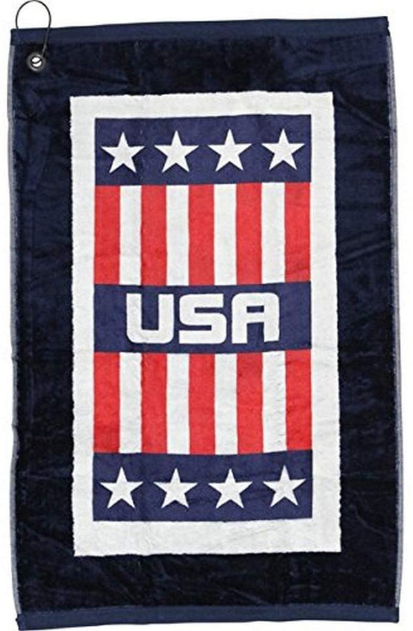 Devant USA Edge Bag Boy Golf Towel - USA