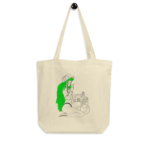 The Girl and The Beach Eco Tote Bag