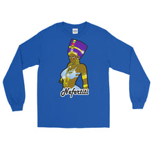 Load image into Gallery viewer, Nefertiti Men's Long Sleeve T-Shirt