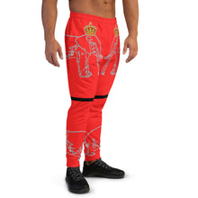 Load image into Gallery viewer, Dahomey Red Men's Joggers