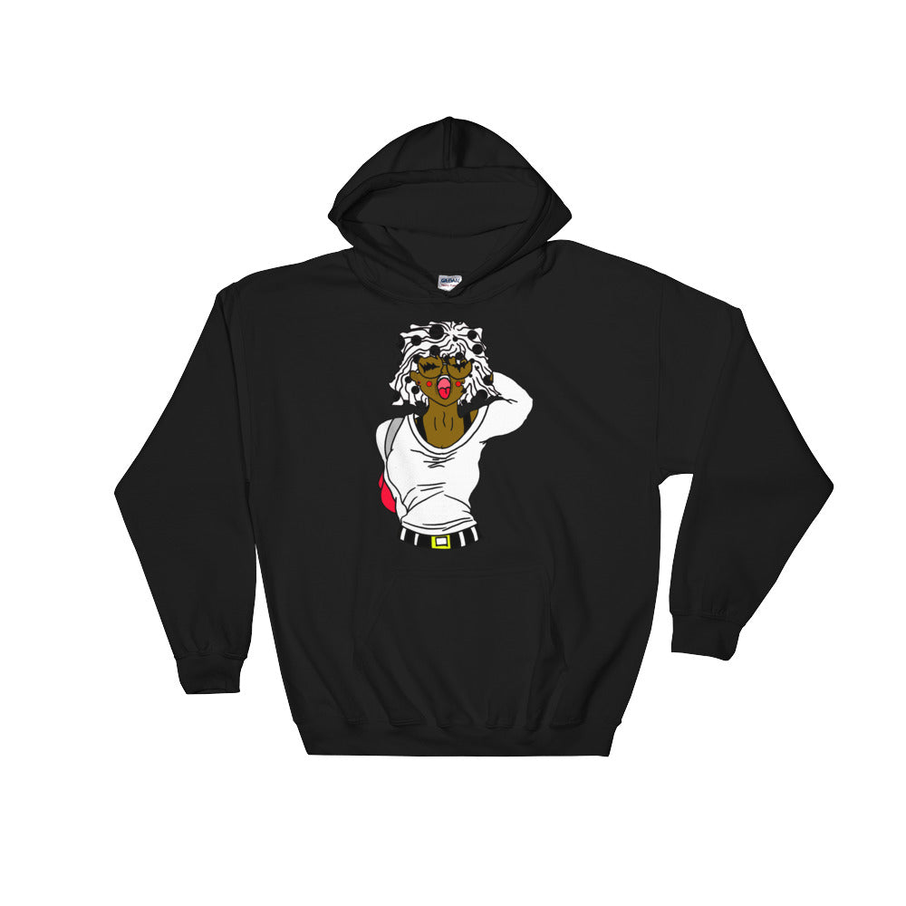 (Sheyla) Unisex Hooded Sweatshirt