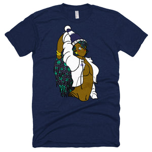 (Shaquia) Unisex Short sleeve T-shirt