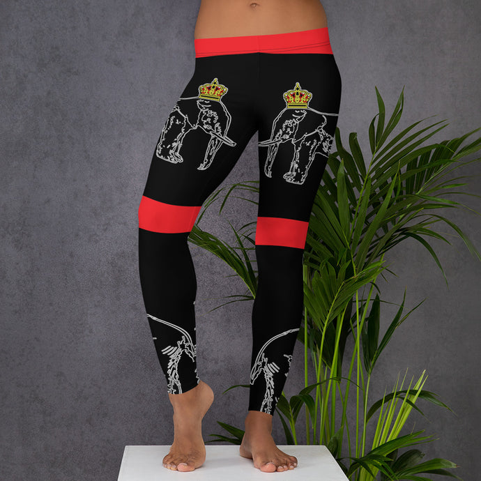 Dahomey Red Leggings