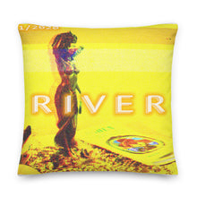 Load image into Gallery viewer, Oshun Vaporwave Premium Pillow