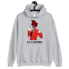 Load image into Gallery viewer, El Vampiro Unisex Hoodie