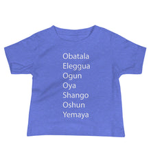 Load image into Gallery viewer, 7 Orishas Baby Jersey Short Sleeve Tee