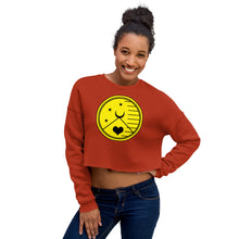 Load image into Gallery viewer, Oshun Sygill Crop Sweatshirt