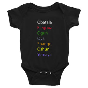 7 Orishas Infant Bodysuit