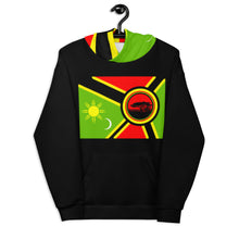 Load image into Gallery viewer, Alkebulan Flag Unisex Hoodie