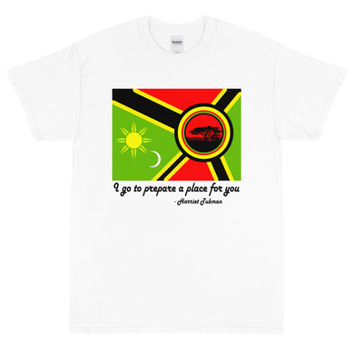 Alkebulan Flag Men's Short Sleeve T-Shirt