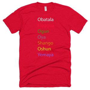 7 Orishas Unisex Short sleeve T-shirt