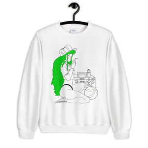 The Girl and The Beach Unisex Sweatshirt