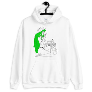 The Girl and The Beach Unisex Hoodie