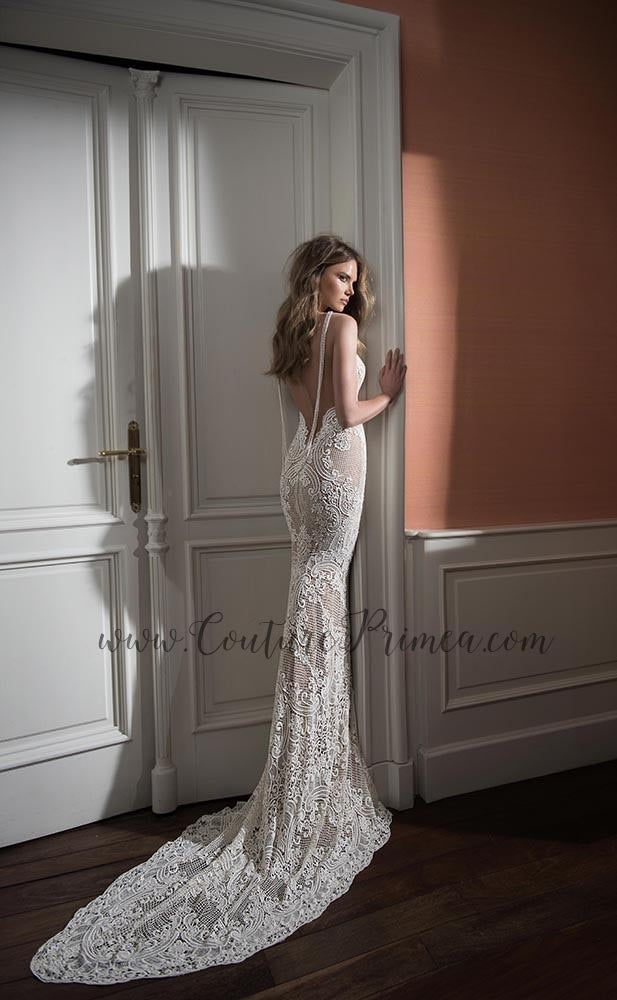 ebd83e424b4f ... Trumpet/Mermaid Lace Wedding Gown. Couture Primea