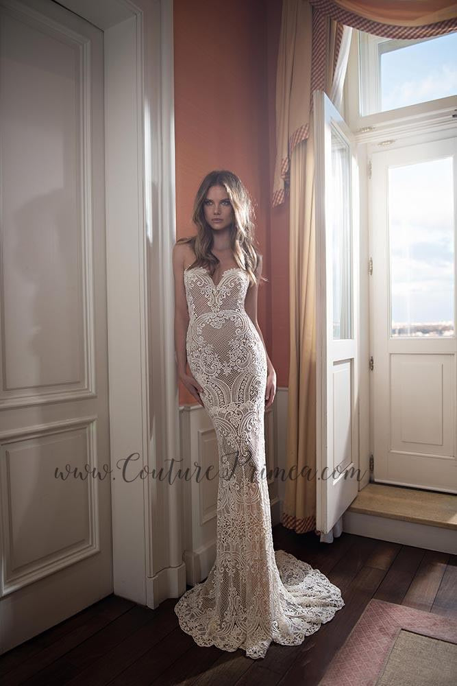 8f041f6f7e14 ... Trumpet/Mermaid Lace Wedding Gown ...