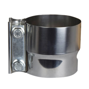 "2.5"" - 5"" Lap Joint Clamp - Stainless Steel"