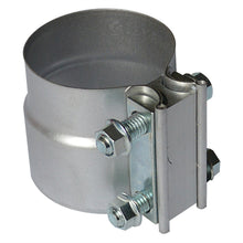 "Load image into Gallery viewer, 2.5""  -  6"" Lap Joint Exhaust Clamp - Aluminium Steel"