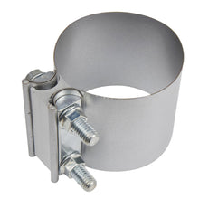 "Load image into Gallery viewer, 2"" - 5"" Butt Joint Exhaust Band Clamp -  Aluminium Steel"