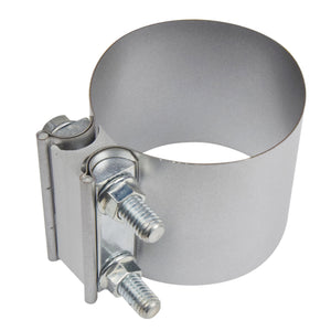 "2"" - 5"" Butt Joint Exhaust Band Clamp -  Aluminium Steel"
