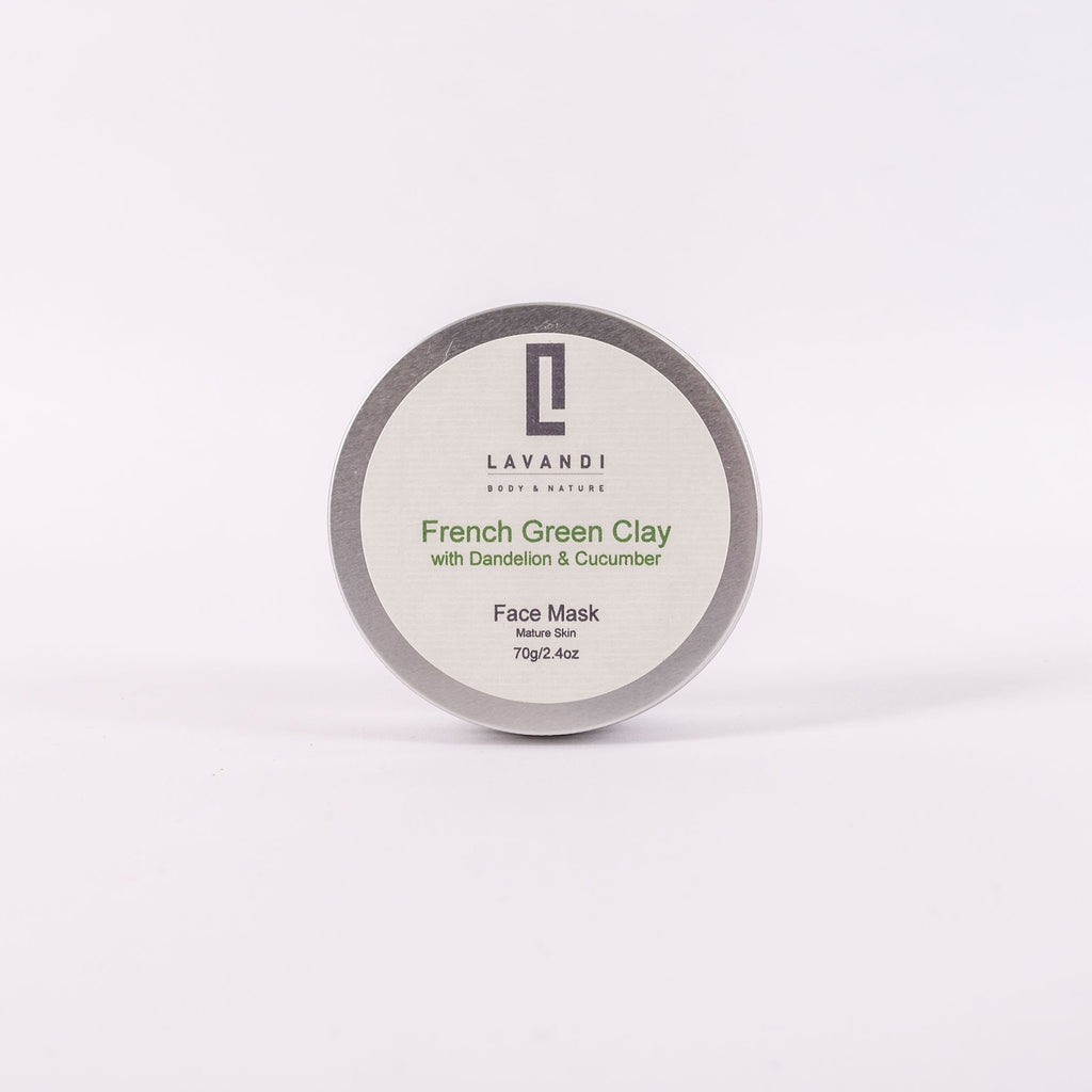 French Green Clay with Dandelion & Cucumber