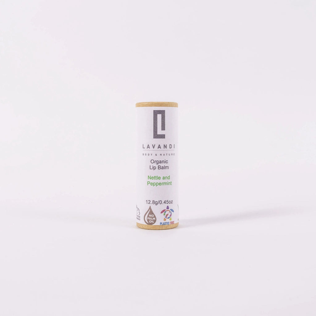 Organic Vegan Lip Balm - Nettle & Peppermint