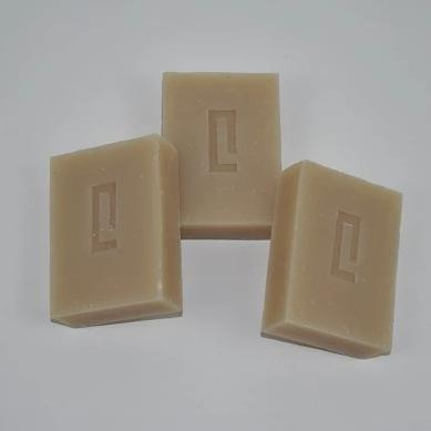 3 Naked Rhassoul Clay Body Cleansing and Nourishing Bars
