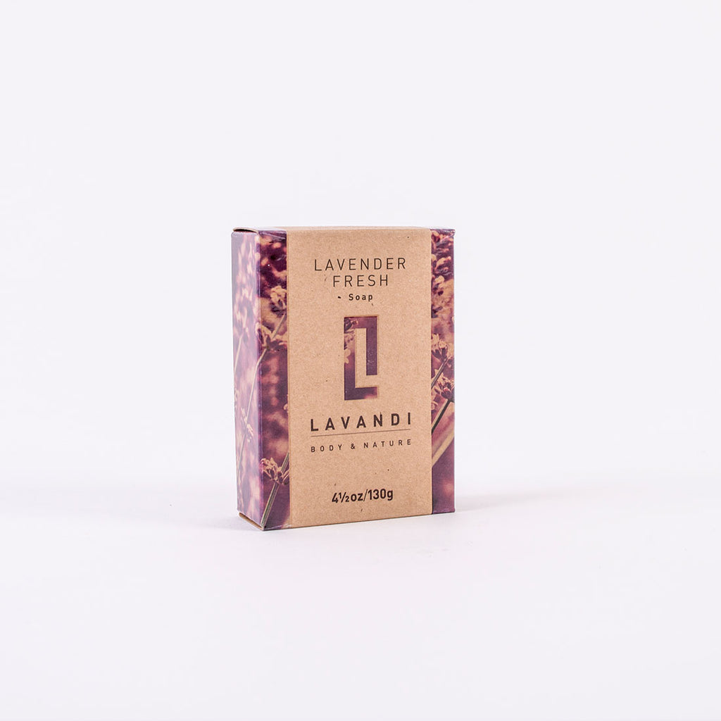 Lavender Body Cleansing and Nourishing Bar