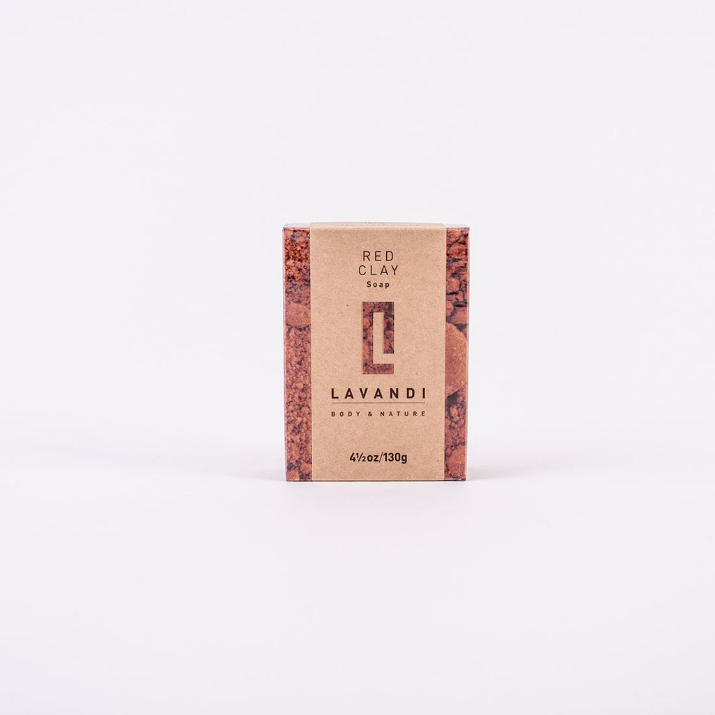 Red Clay Body Cleansing and Nourishing Bar