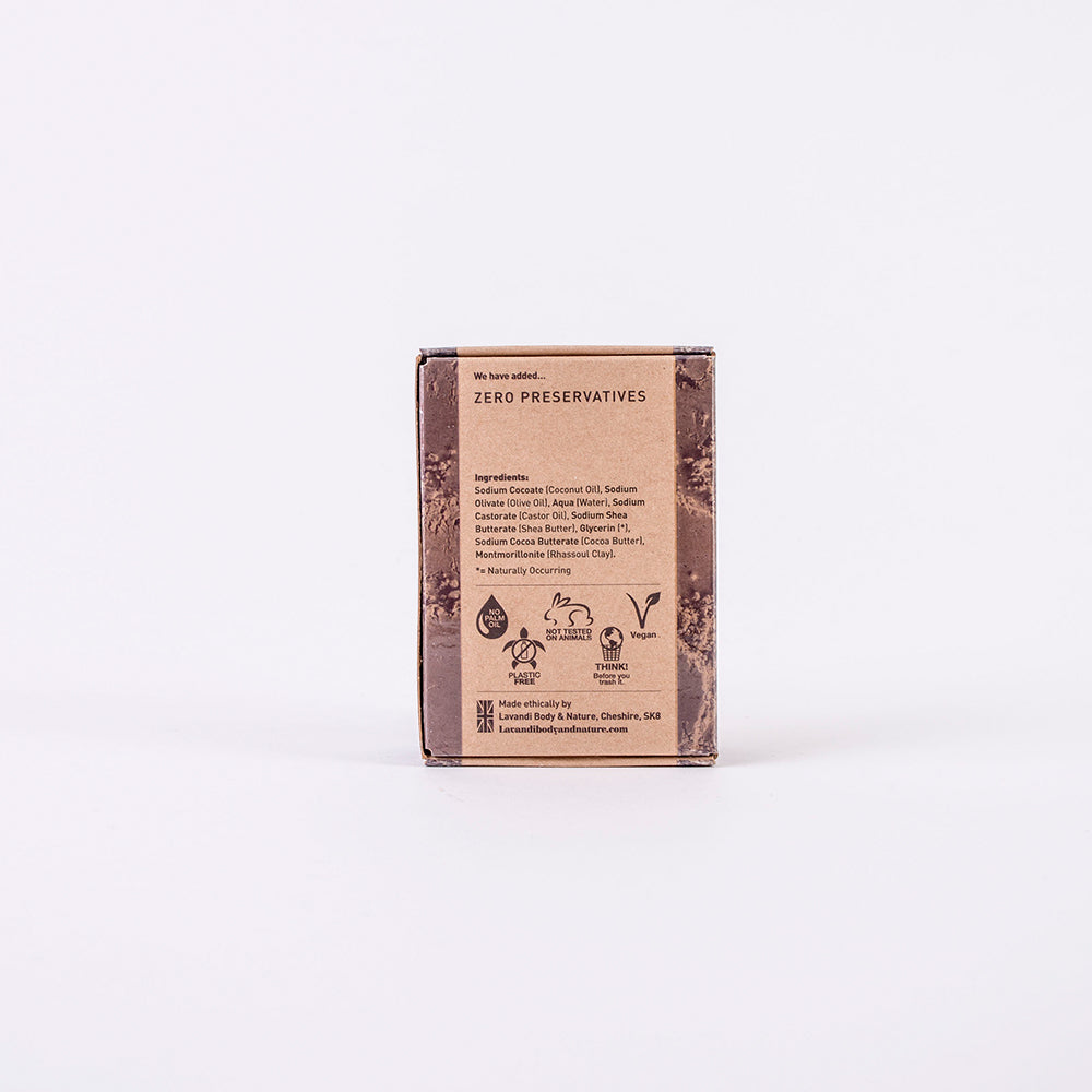 Rhassoul Clay Body Cleansing and Nourishing Bar