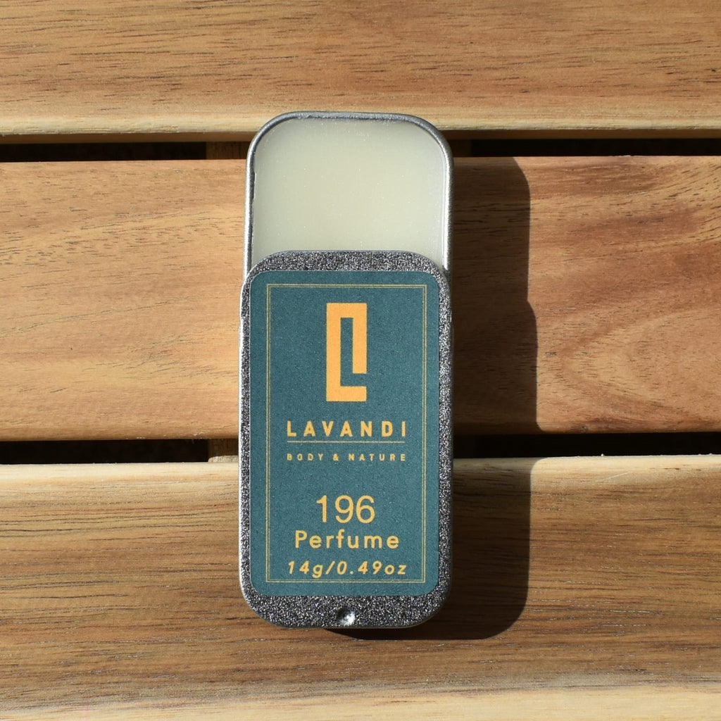 196 Solid Perfume is inspired by Le Labo Santal 33