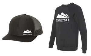 Rocktops Hat and Sweatshirt Combo II
