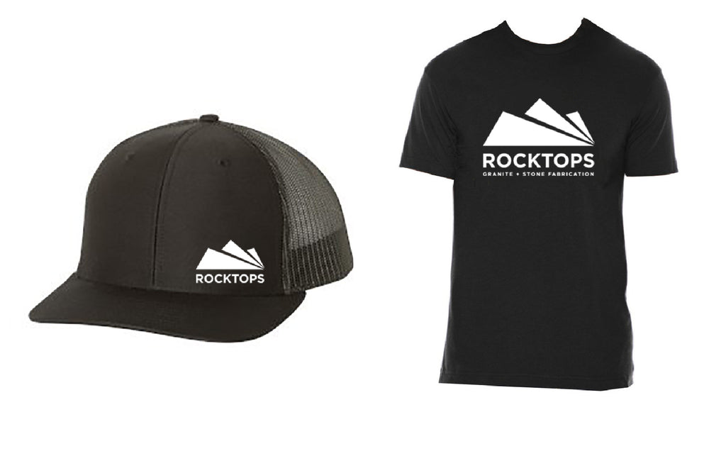 Rocktops Hat and Tee Combo I
