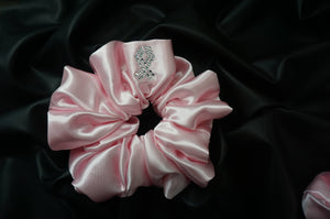 Breast Cancer Awareness Scrunchie