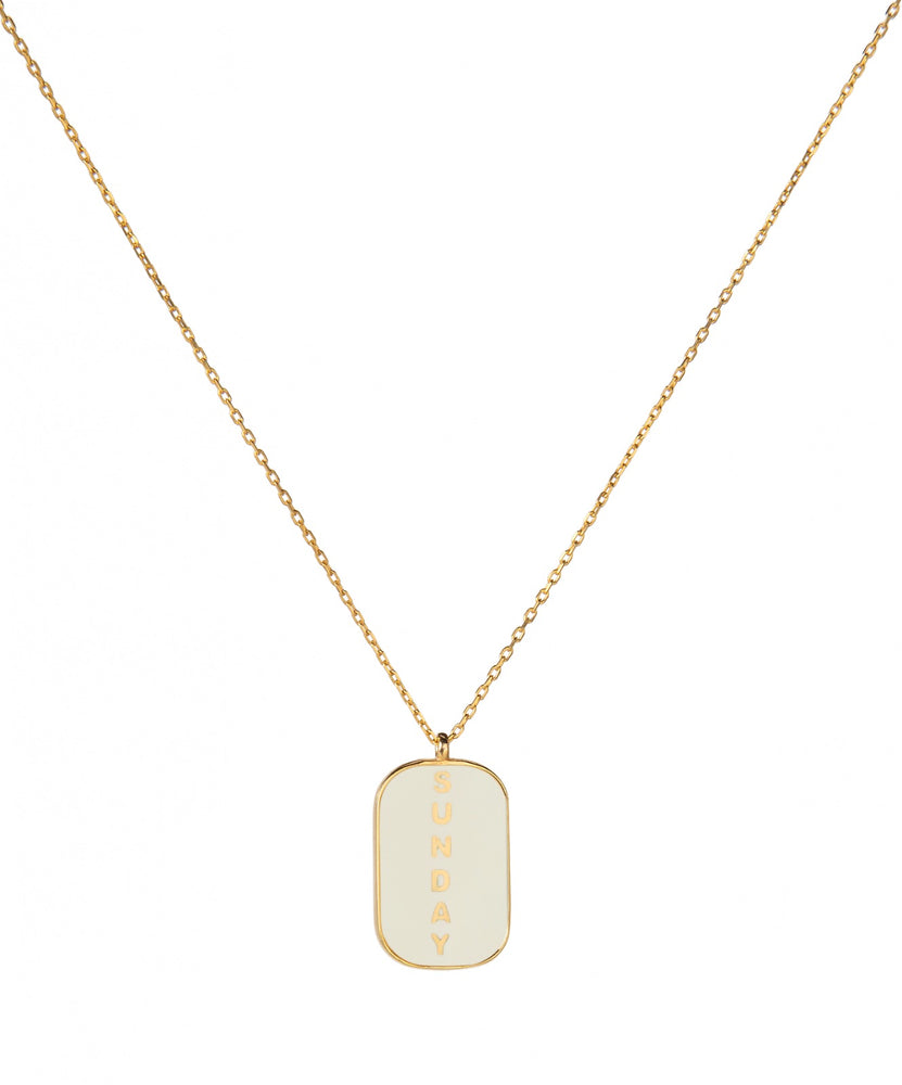 Sunday Necklace Cream