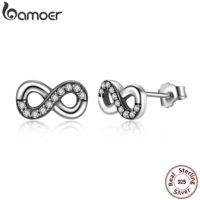 BAMOER High Quality Earrings for Women Fine Jewelry