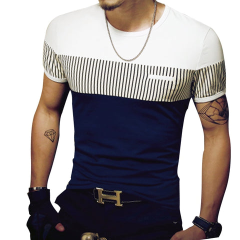 Clothing Casual Slim Fit Hip-Hop Top Tees up to  5XL