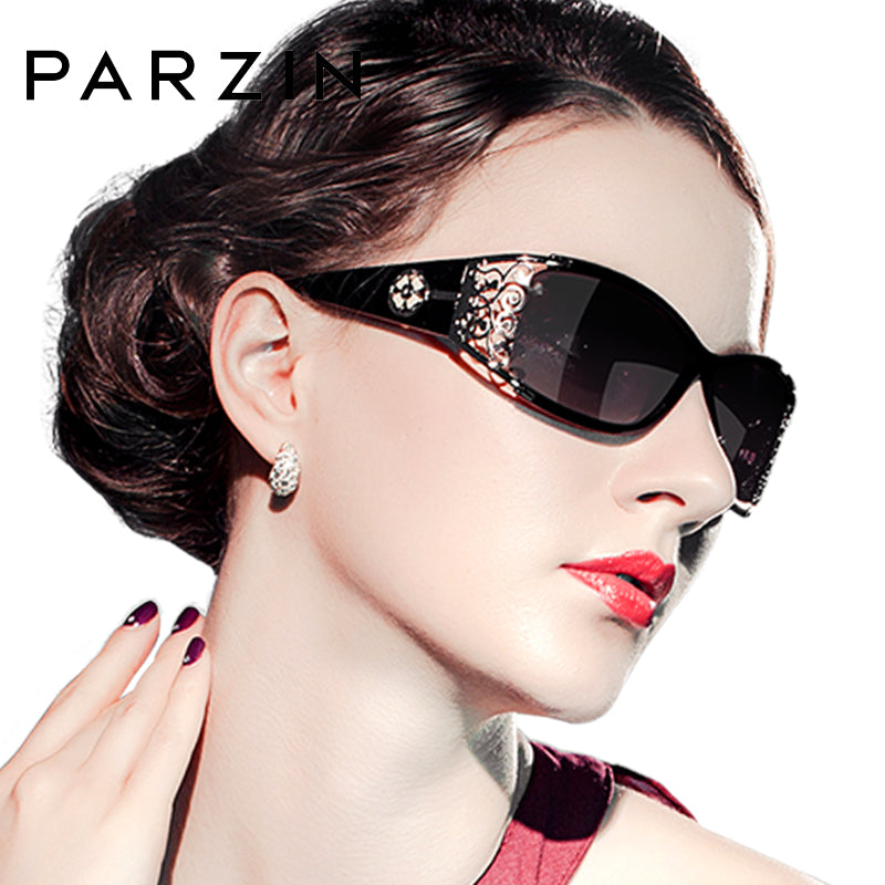 PARZIN Luxury Brand Vintage Sunglasses Women
