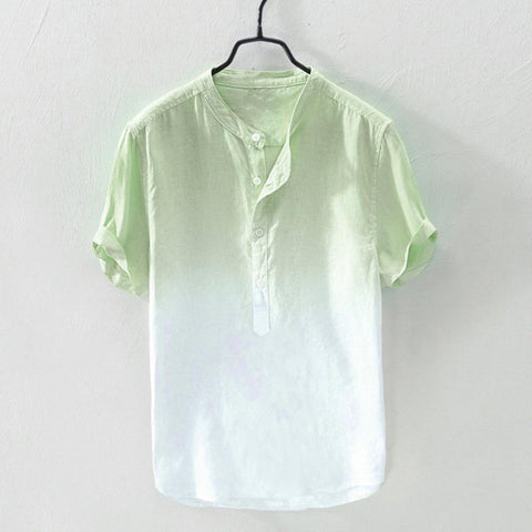 Summer Men's Shirt  Cool And Thin Breathable