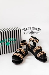 Leave it to leopard sandals