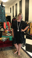 Load image into Gallery viewer, Black Sequin Duster