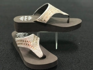 Brown BLING sandals