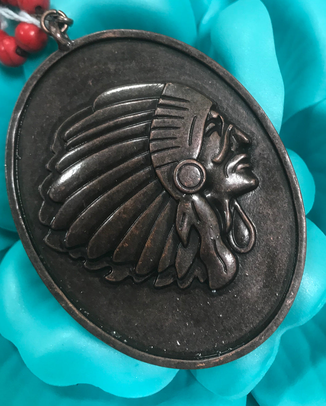 Indian Headdress pendant
