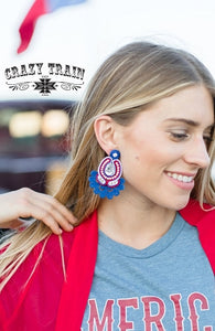 """Lady Liberty""  Earrings"