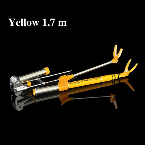 Adjustable Telescoping Carbon Fiber Fishing Rod Holder