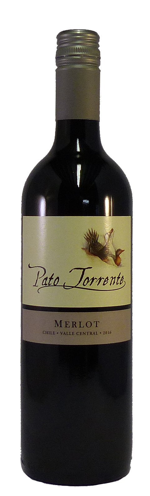 Pato Torrente Merlot, Central Valley, Chile 2019