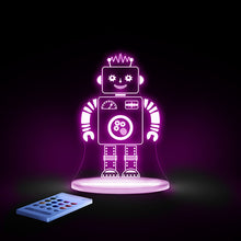 Load image into Gallery viewer, Aloka Robot Multi Color LED Light