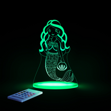 Load image into Gallery viewer, Aloka Mermaid Multi Color LED Light