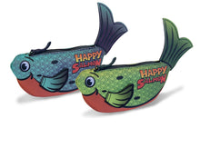 Load image into Gallery viewer, Happy Salmon - Blue Fish