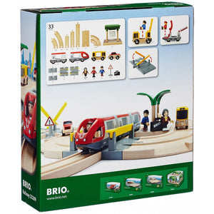 Brio Rail & Road Travel Set back of the box