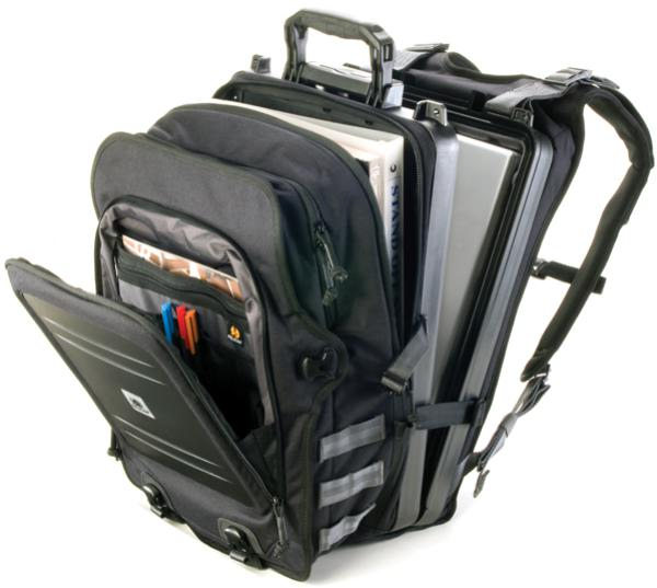 Pelican U100 Urban Latop Elite Backpack - Black - www.bluesystem.com.au